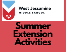 Summer Extension Activities